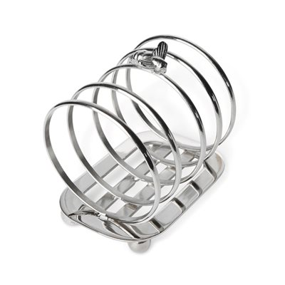 SILVER PLATED BEE TOAST RACK