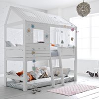 SILVERSPARKLE CHILDRENS TREEHOUSE HIGH HUT BED