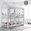 Silversparkle Feature Treehouse Beds for kids at cuckooland