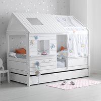 SILVERSPARKLE LOW HUT CHILDRENS BED