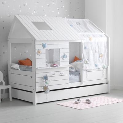 silversparkle children's low hut bed - lifetime furniture | cuckooland