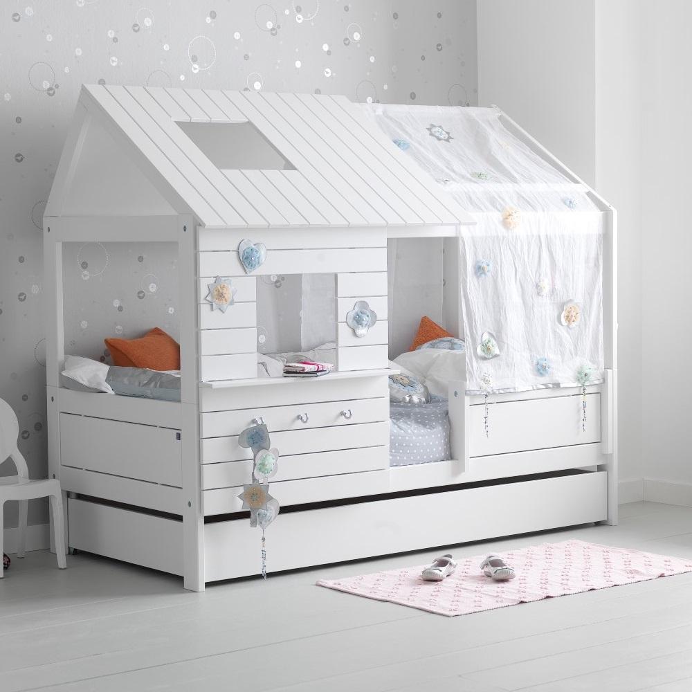 Silversparkle Low Hut Children 39 S Bed Lifetime Cuckooland