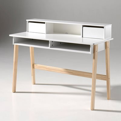 KIDDY COMPUTER DESK in White