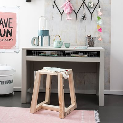LOFT CHILDREN'S DESK with Adjustable Shelf