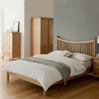 WILLIS & GAMBIER SPIRIT LOW END WOODEN BED FRAME