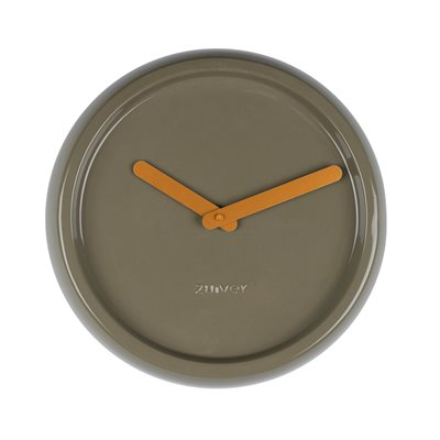 ZUIVER CERAMIC TIME WALL CLOCK in Green