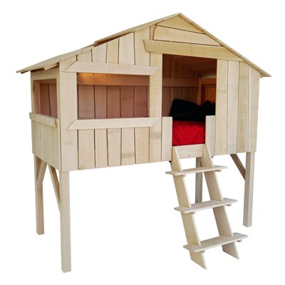 MATHY BY BOLS TREE HOUSE SINGLE CABIN BED in Pine & MDF