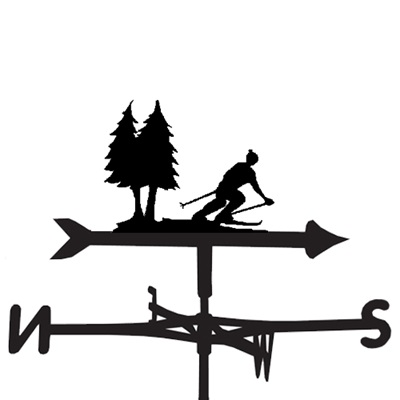 WEATHERVANE in Skiing Hobbies Designs