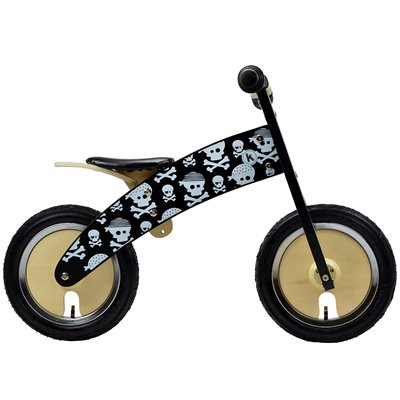 KURVE BALANCE BIKE in Skullz Design by Kiddimoto