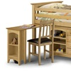 Wood Kids Cabin Bed with Desk