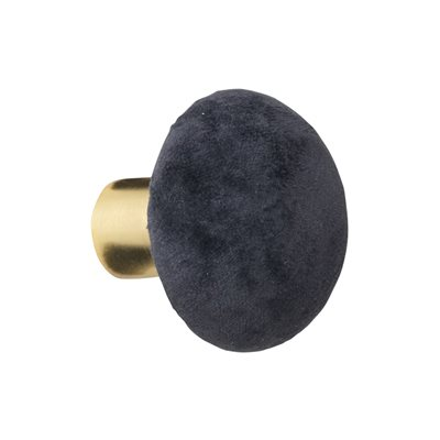 Cozy Living Helene Velvet Wall Hook in Cole