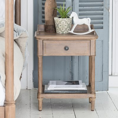 WILLIS & GAMBIER ELLE BEDSIDE TABLE with Drawer