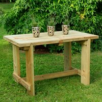 Product photograph showing Forest Garden Refectory Table