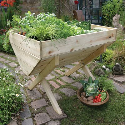 ZEST 4 LEISURE 1M VEGETABLE RAISED BED PLANTER