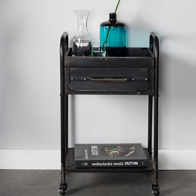 VIGO INDUSTRIAL SIDE TABLE