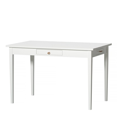 Small Office amp Dining Table In White Dining Sets  : Small White Dining Table with 4 Drawers from www.cuckooland.com size 1000 x 1000 jpeg 43kB