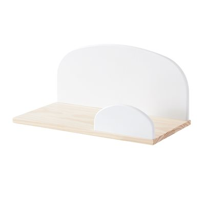 KIDDY WALL SHELF in White