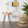 Small Wooden Round Coffee Table