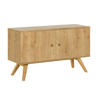 VOX NATURE SMALL WOODEN SIDEBOARD in Oak Effect