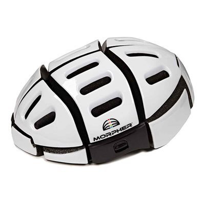 Morpher Folding Cycle Helmet in White