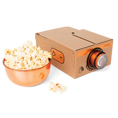 SMARTPHONE PROJECTOR in Copper Finish