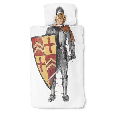 SNURK Childrens Knight Duvet Bedding Set