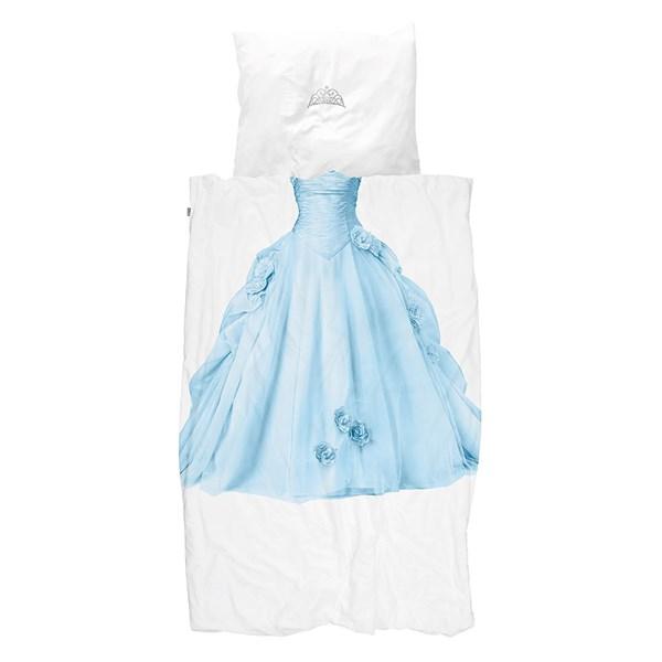 Snurk Children's Princess Duvet Bedding Set in Blue