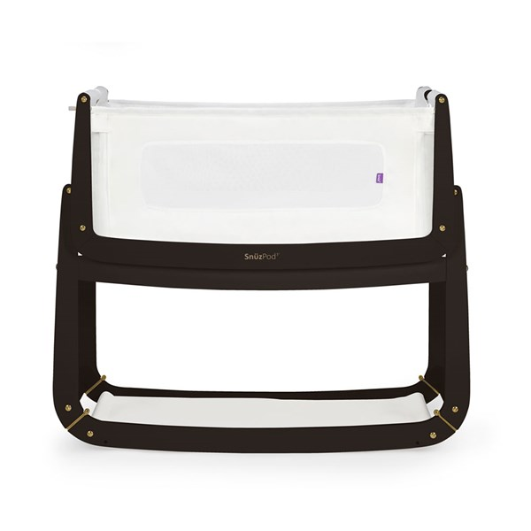 SnuzPod 3 Bedside Crib 3-in-1 with Mattress in Luna