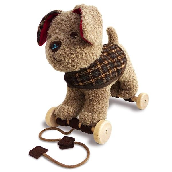 Percy Pup Pull Along Kids Toy