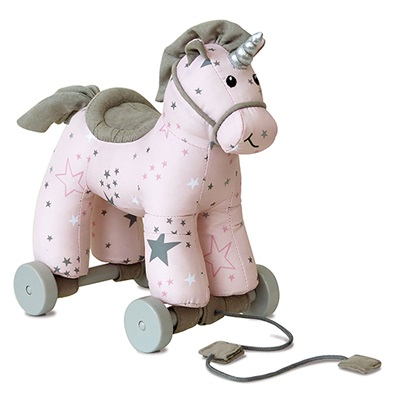 Celeste Unicorn Pull Along Kids Toy