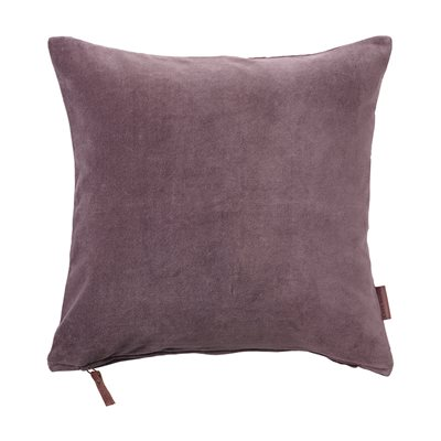 Cozy Living 50x50cm Soft Cotton Velvet Cushion in Lavender