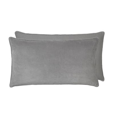 Cozy Living 90x50cm Soft Cotton Velvet Headboard Cushion in Mud