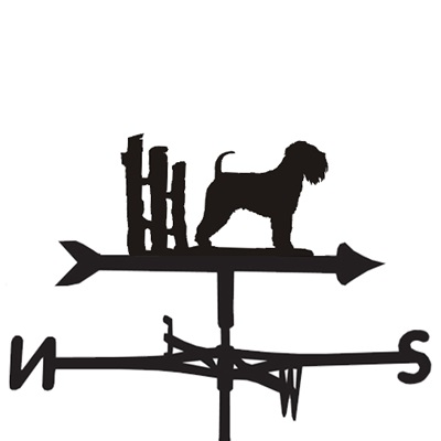 WEATHERVANE in Soft Wheaten Dog Design