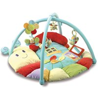SOFTLY SNAIL MULTI ACTIVITY BABY PLAY GYM