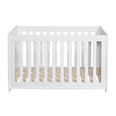 New Life Baby Cot in White by Woood
