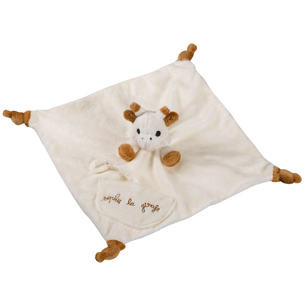 sophie la girafe comforter gift set baby showers cuckooland. Black Bedroom Furniture Sets. Home Design Ideas