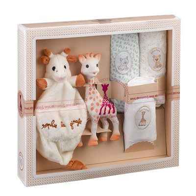 Sophie La Girafe Muslins Gift Set