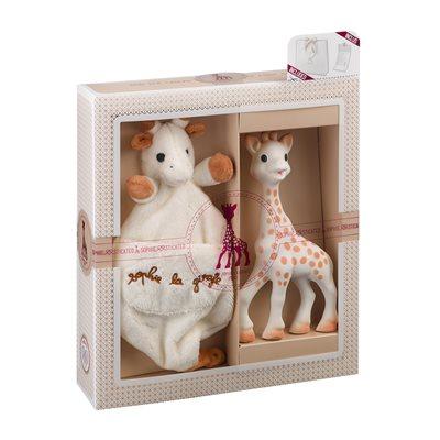 Sophie La Girafe Comforter Gift Set