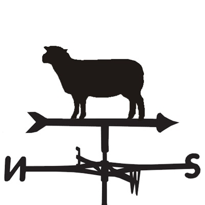 WEATHERVANE in Southdown Sheep Design