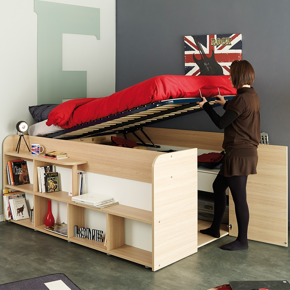 double beds with storage