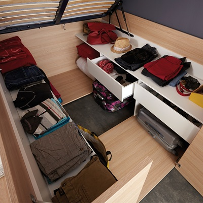 how to raise your bed for storage
