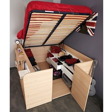 Parisot Space Up Double Bed With Under Bed Storage Kids