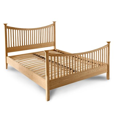WILLIS & GAMBIER SPIRIT HIGH END WOODEN BED FRAME
