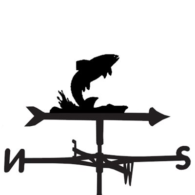 WEATHERVANE in Splash Fish Design
