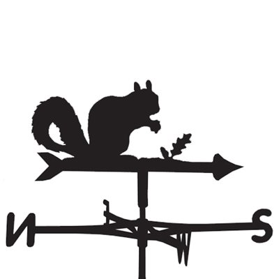 Weathervane in Squirrel Design