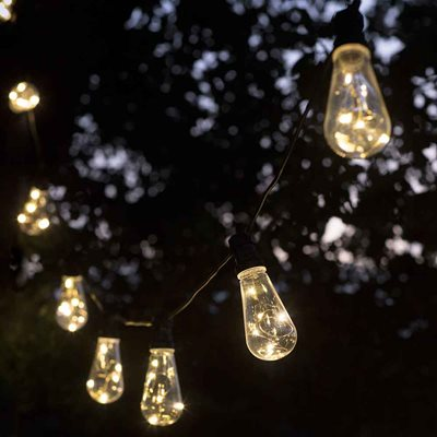 GARDEN TRADING LED SQUIRREL FESTOON OUTSIDE LIGHTS with 10 or 20 Bulbs