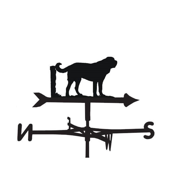 St Bernard Dog Weathervane