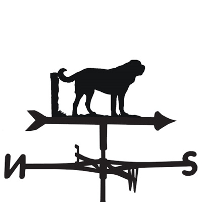 WEATHERVANE in St Bernard Design