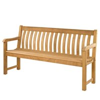 ROBLE ST.GEORGE 6FT GARDEN BENCH by Alexander Rose