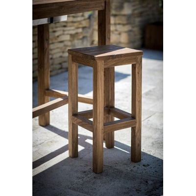 ST MAWES BAR STOOL in Reclaimed Teak